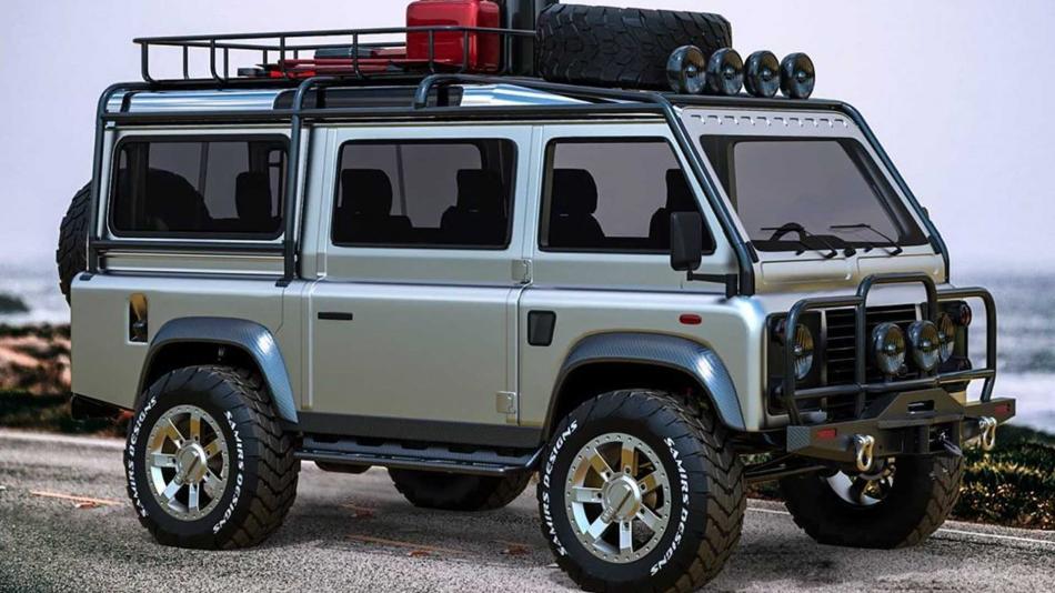 Какой может быть «буханка» от Land Rover?