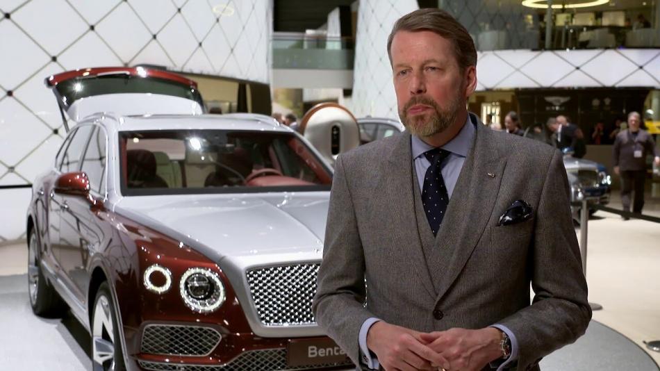Дизайнер Bentley будет рисовать автомобили китайской марки
