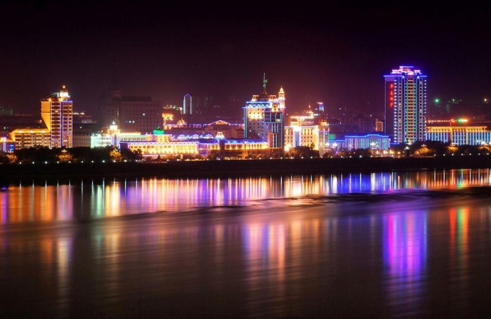 Вид на Китай с набережной Благовещенска лучшие места для свиданий