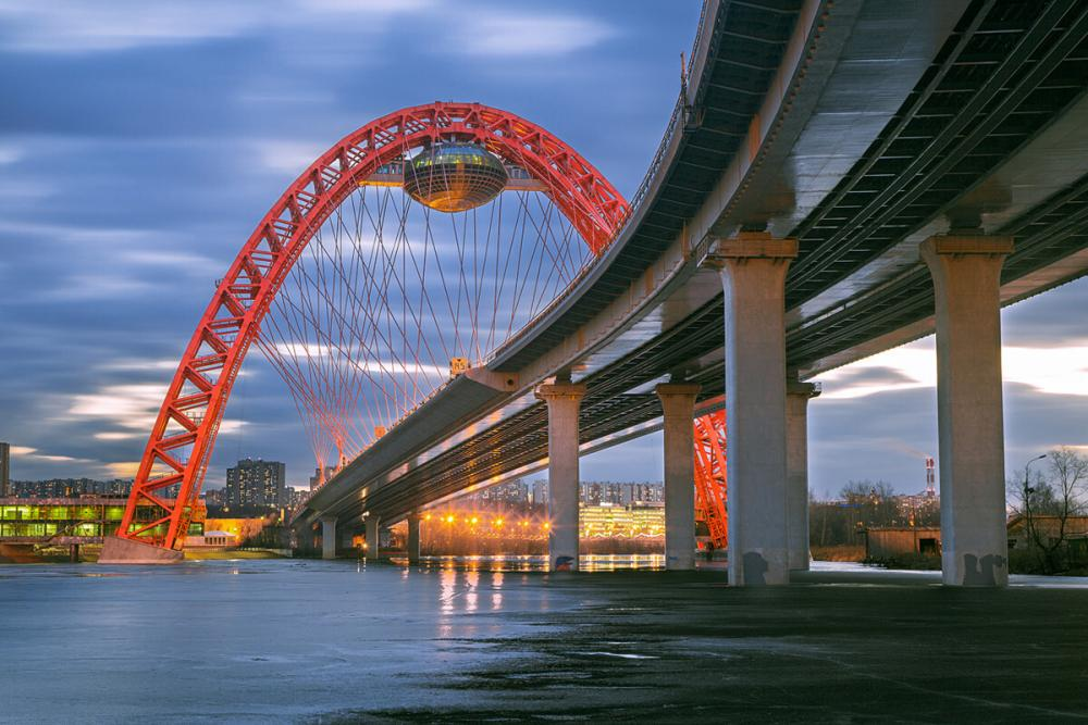 Живописный мост в Москве лучшие места для свиданий