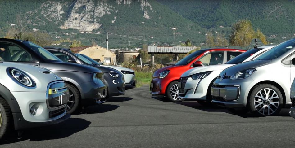 Какой электромобиль самый быстрый? Выяснили в дрэге 8 хетчбэков