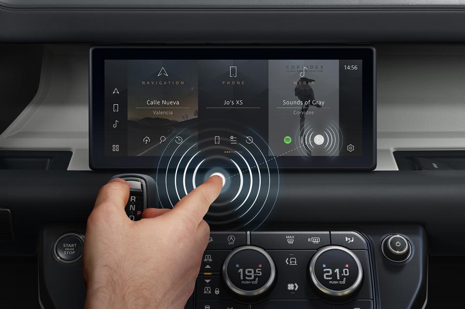 В Jaguar Land Rover придумали «предиктивное прикосновение»