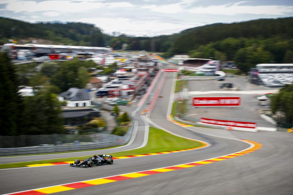 Льюис Хэмилтон выиграл квалификацию Гран-при Бельгии «Формулы-1»