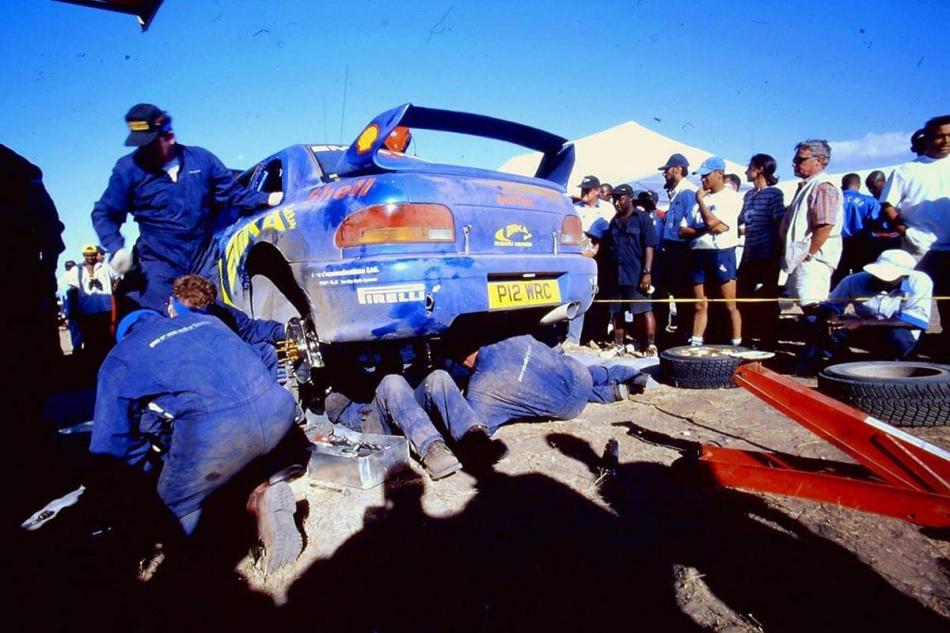 """Subaru Impreza WRC для ралли """"Сафари"""""""