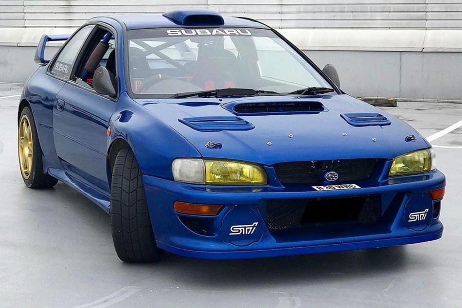 дорожная версия Subaru Impreza WRC