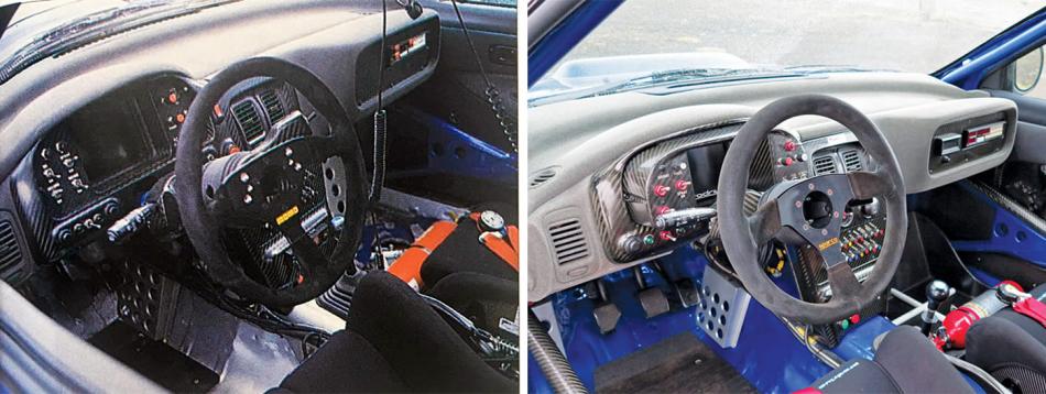 салон Subaru Impreza WRC шасси PR0/WRC/97.001