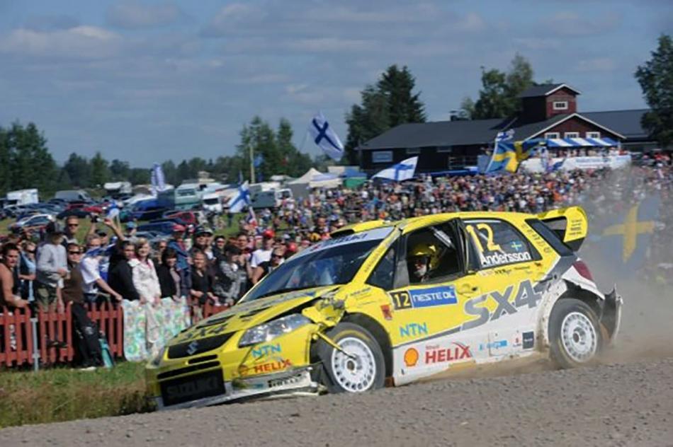 Suzuki SX4 WRC госномер LAX-448