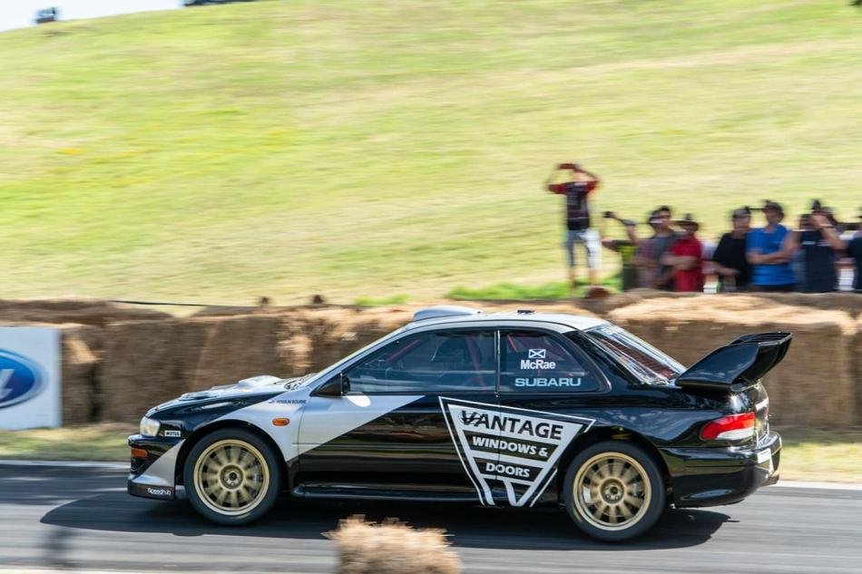 восстановленный Subaru Impreza WRC с номером шасси 98.031