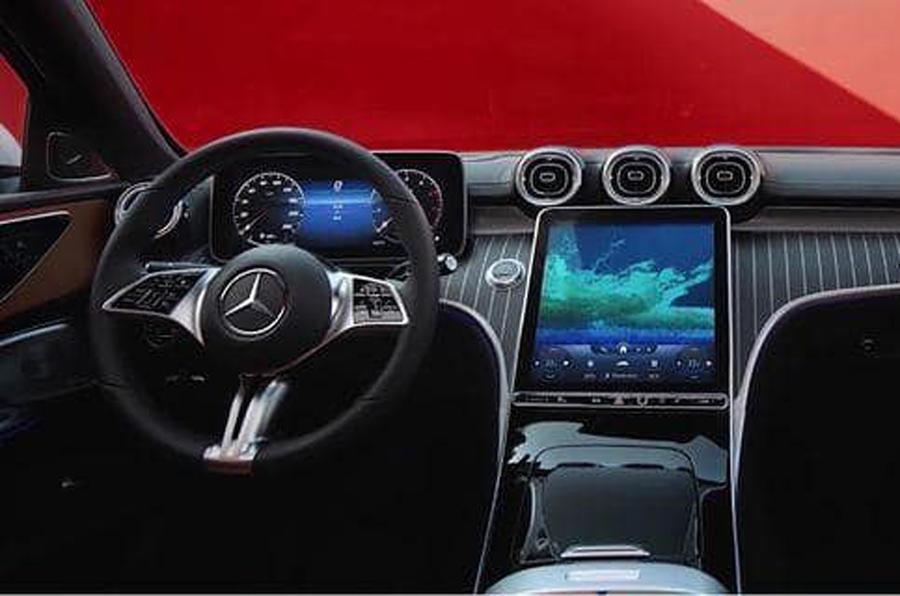 интерьер Mercedes C-класса W206