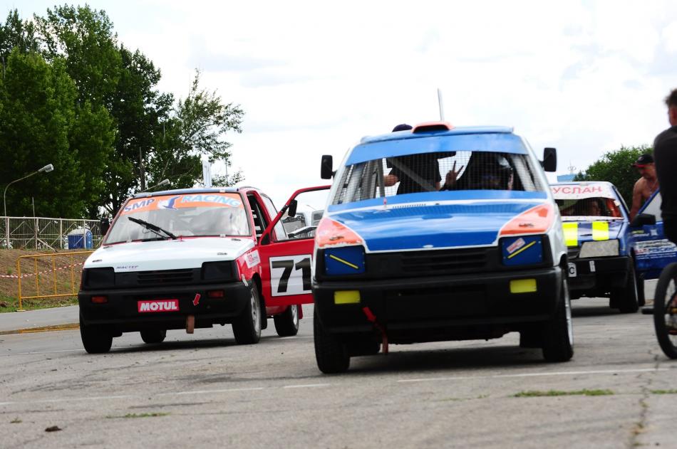 соревнования по ралли-кроссу «Тольятти» на автодроме КВЦ