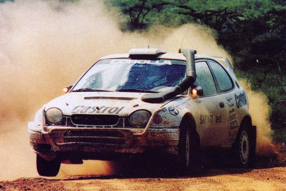тестовый автомобиль Toyota Corolla WRC