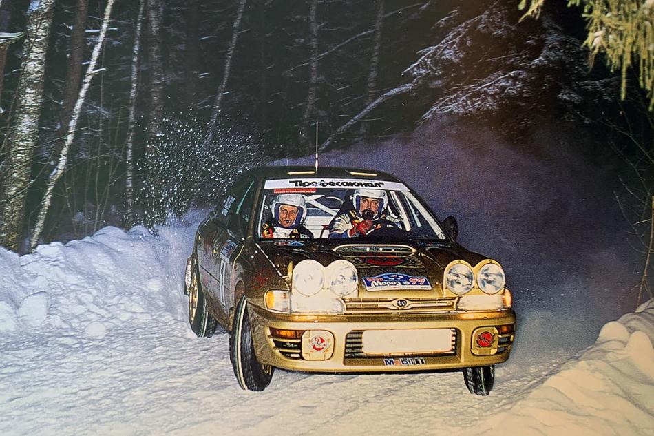 А-групповой Subaru Impreza 555 Сергея Успенского