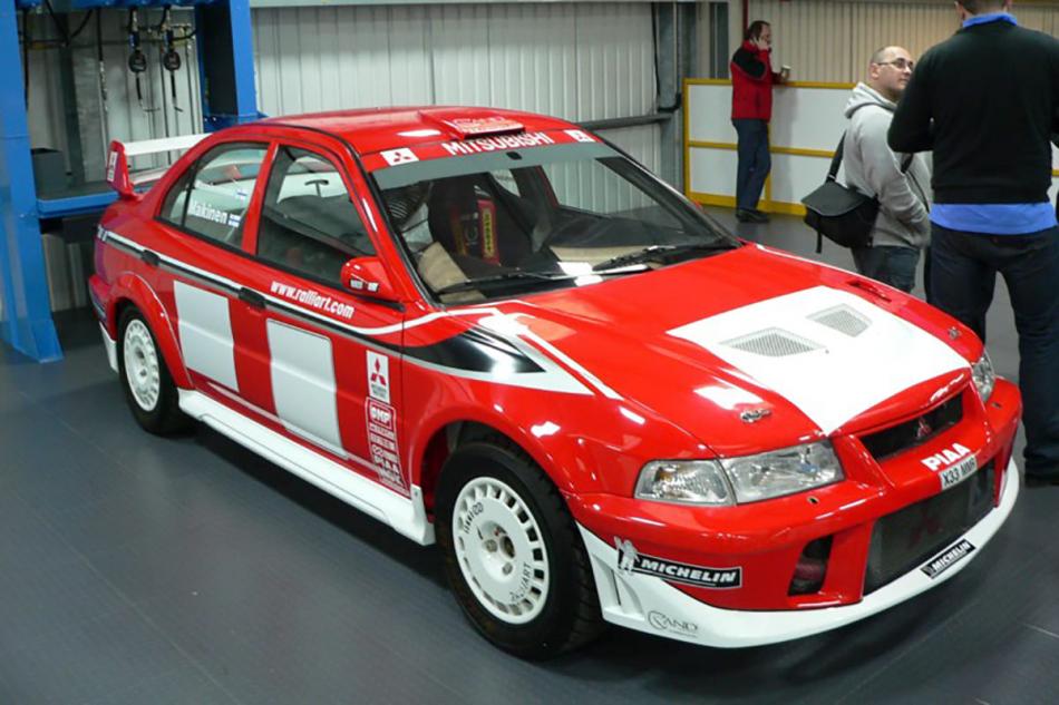 шоукар Mitsubishi Carisma GT Evolution VI