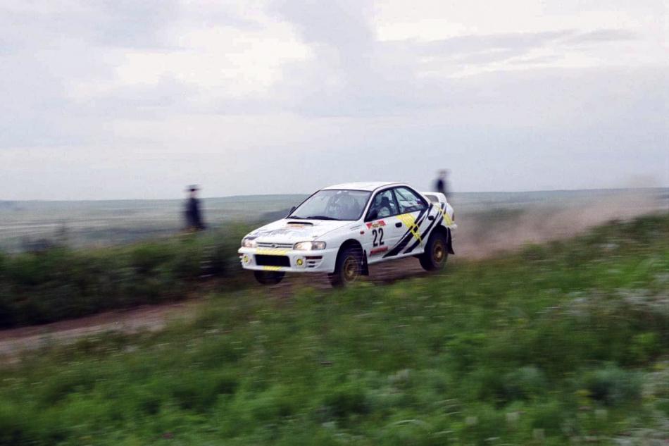 А-групповая Subaru Impreza 555 Александра Милованова