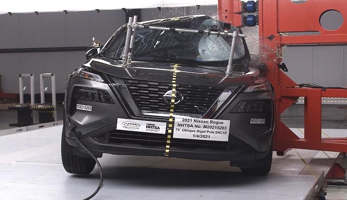 Новый Nissan X-Trail краш-тест