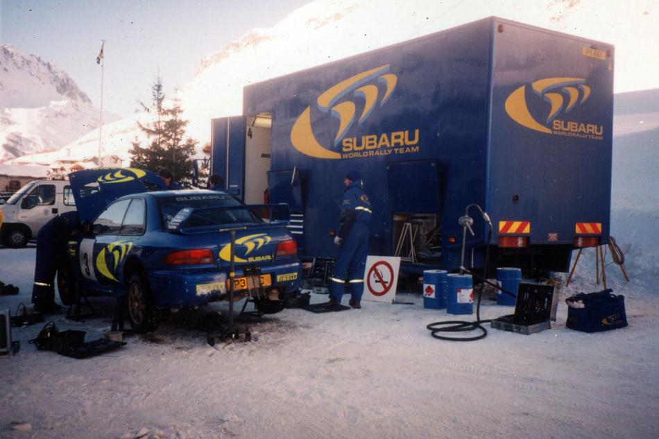 Subaru Impreza WRC с номером шасси 97.004