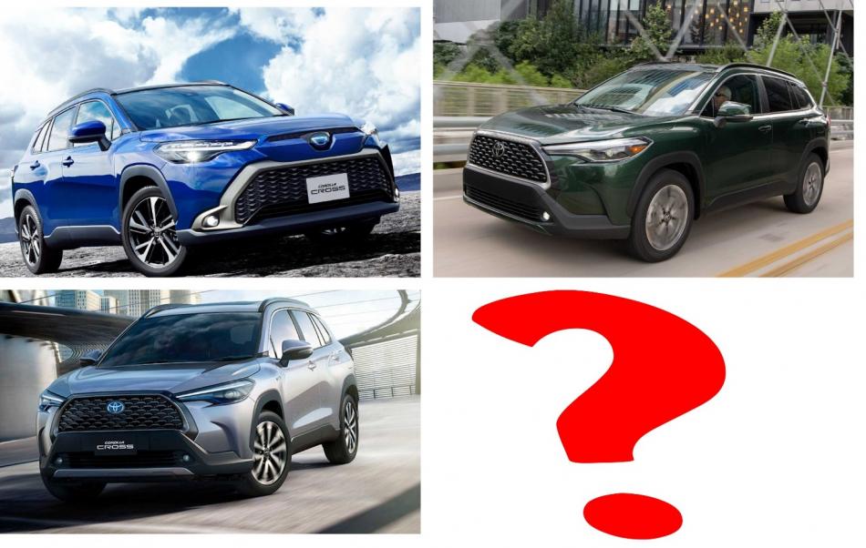 Трое из ларца: чем отличаются новые Toyota Corolla Cross в Японии, США и Таиланде