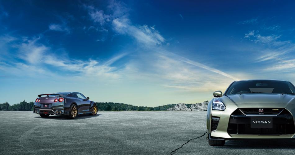 Cпорткар Nissan GT-R