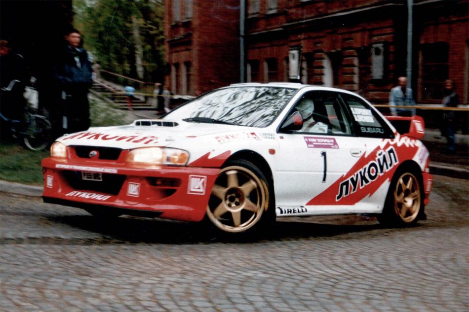лукойловская Subaru Impreza WRC