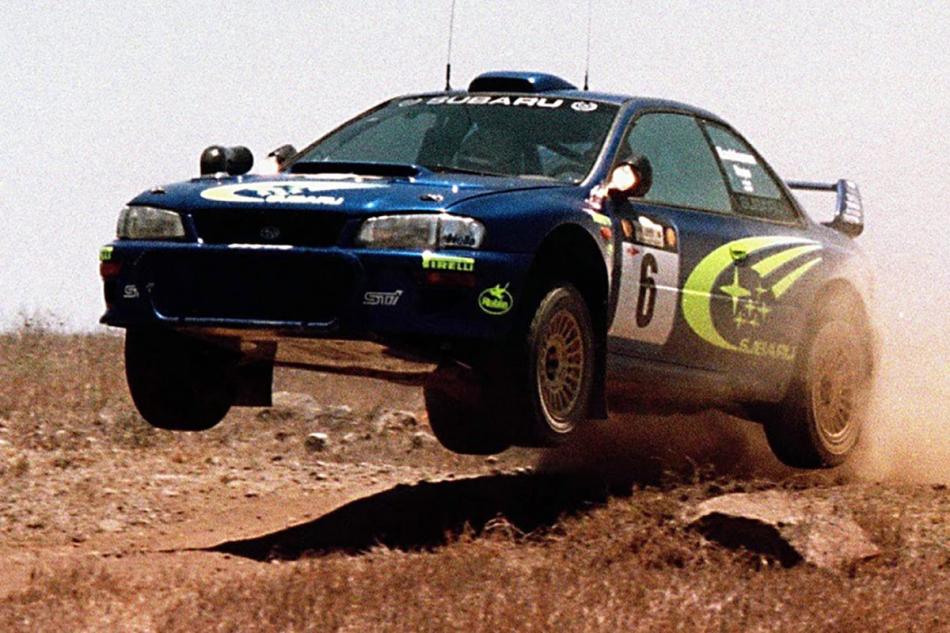 "Subaru Impreza WRC на ралли ""Сафари"""