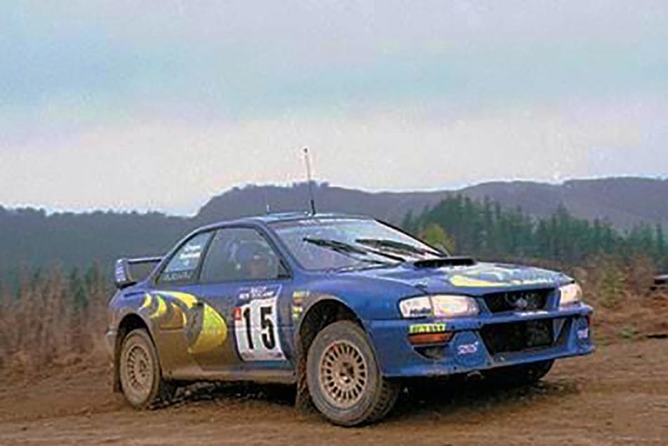 Subaru Impreza S5 WRC`97 Шасси №98.031