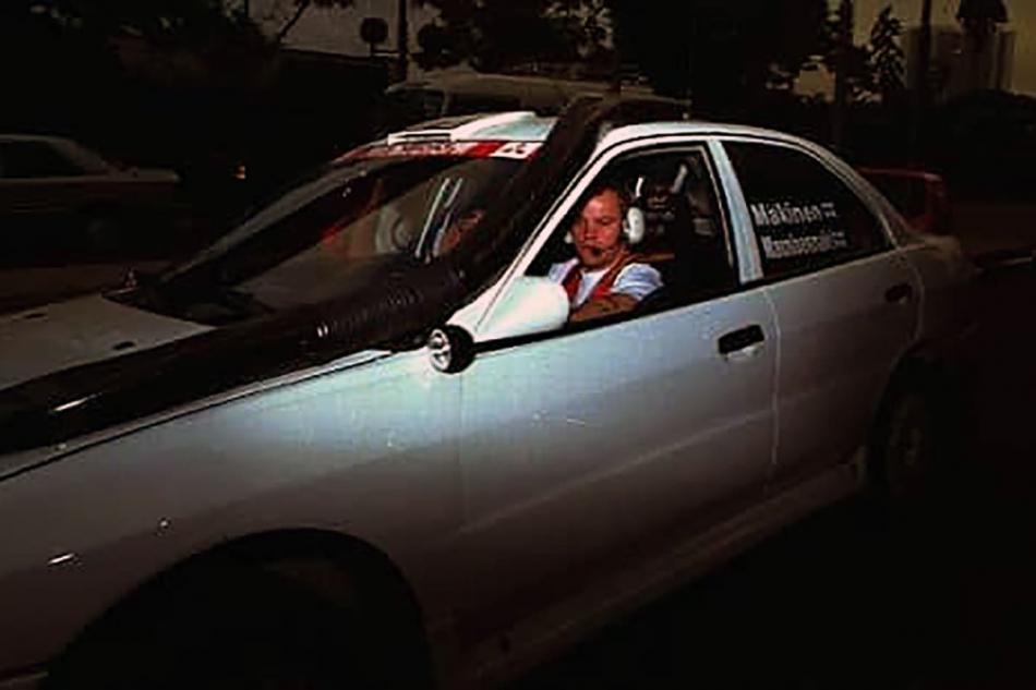 Томми Мякинен за рулем