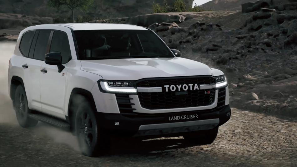 Toyota показала Land Cruiser 300 для любителей офф-роуда
