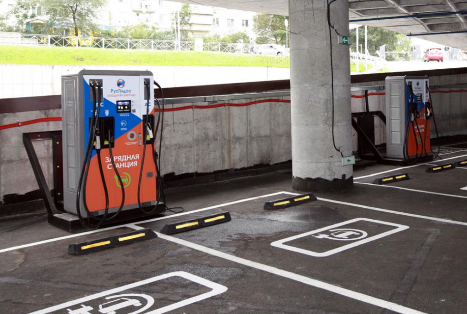 зарядки для электромобилей дальний восток