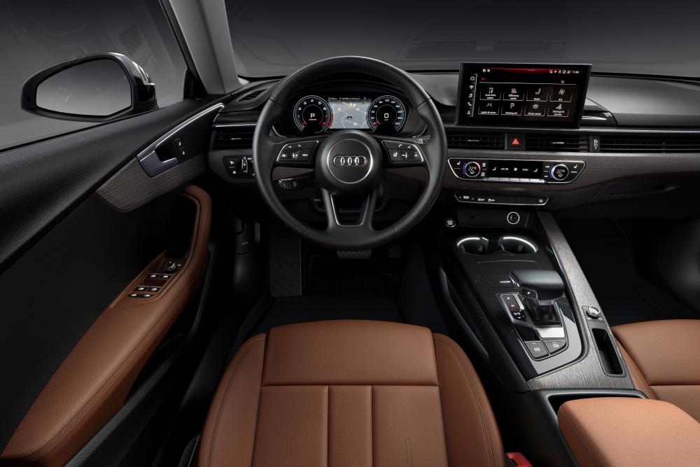 Audi A5 2 поколение (F5) [рестайлинг] (2019) Лифтбек интерьер
