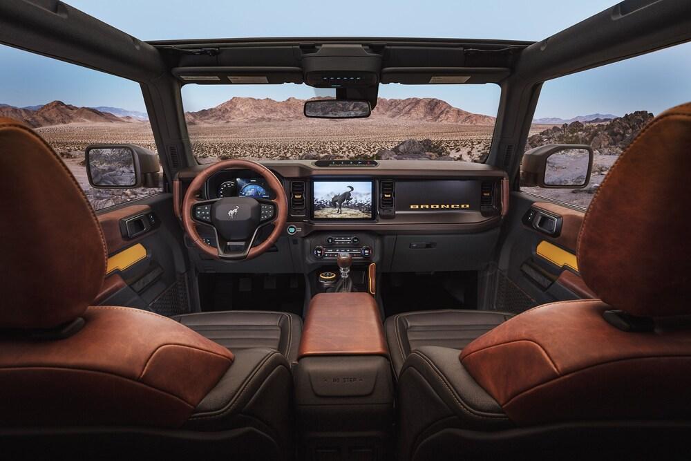 Ford Bronco 6 поколение (2020) Внедорожник 3 дв. интерьер