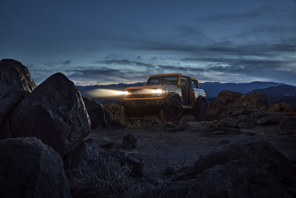Ford Bronco 6 поколение (2020) Внедорожник 3 дв.