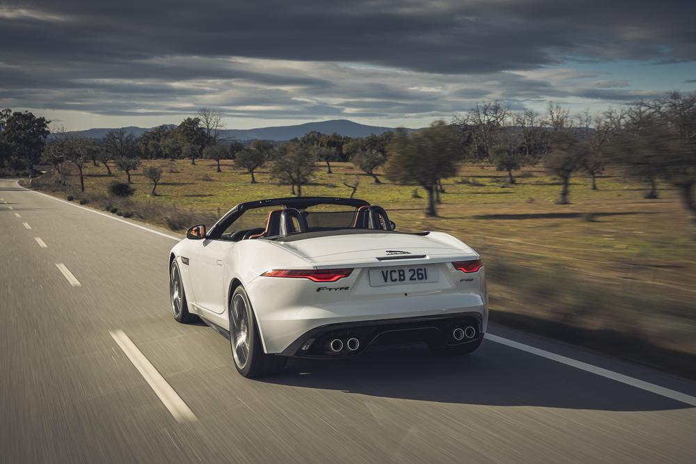 Jaguar F-Type 1 поколение [2-й рестайлинг] (2020) Родстер