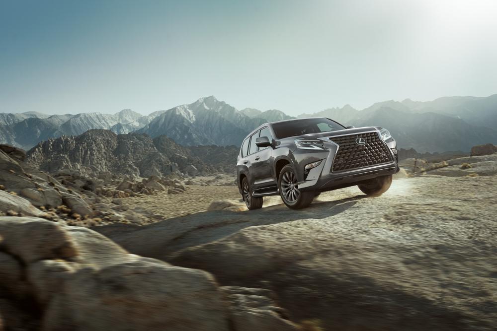 Lexus GX 2 поколение [2-й рестайлинг] (2019) Внедорожник 5 дв.