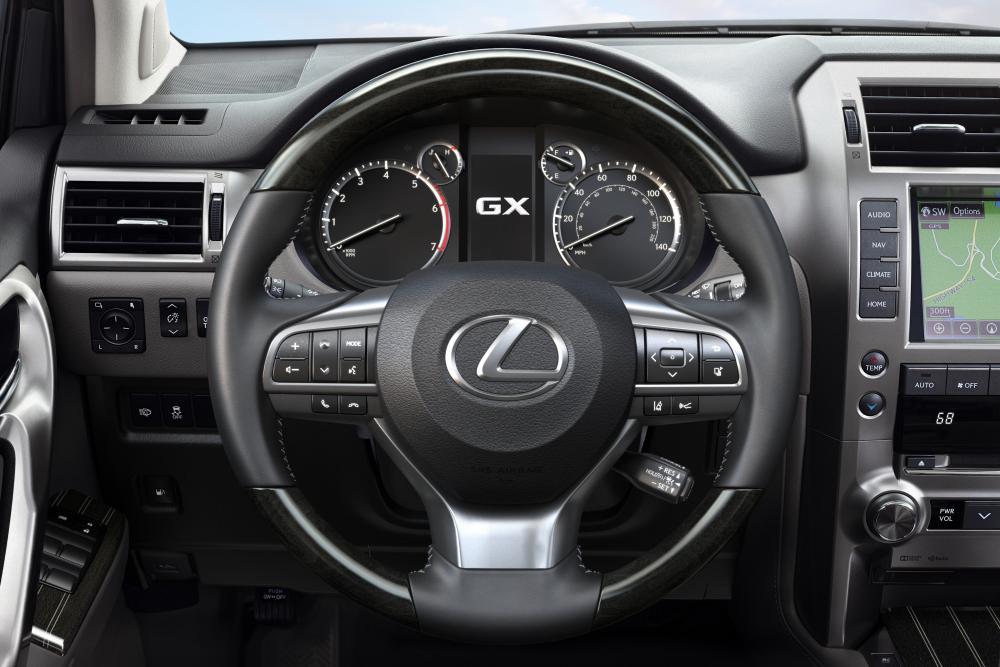 Lexus GX 2 поколение [2-й рестайлинг] (2019) Внедорожник 5 дв. интерьер