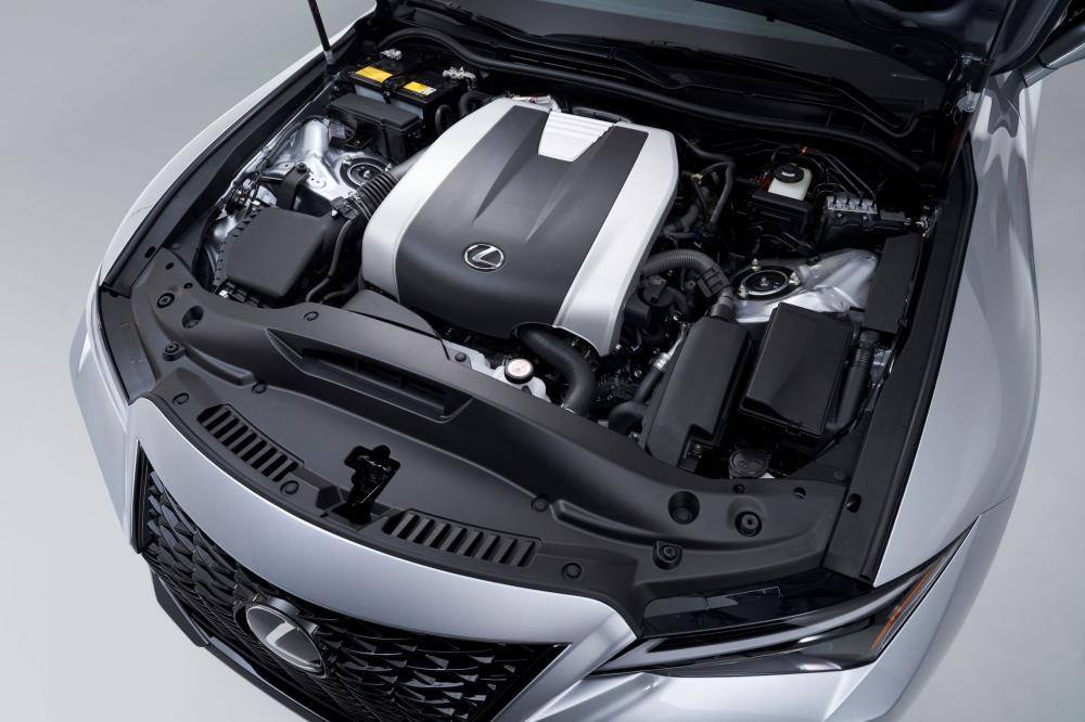 Lexus IS 4 поколение (2020) Седан двигатель