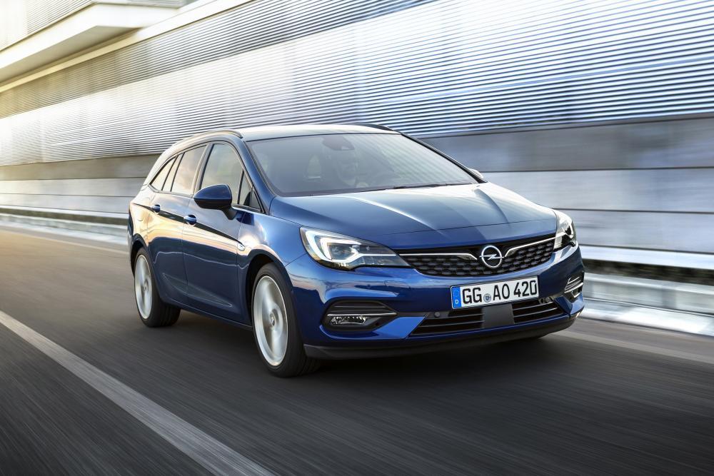 Opel Astra 5 поколение K [рестайлинг] (2019) Универсал 5 дв.
