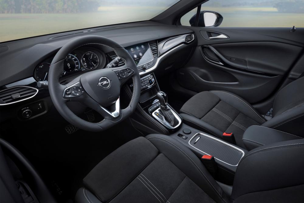 Opel Astra 5 поколение K [рестайлинг] (2019) Универсал 5 дв. интерьер