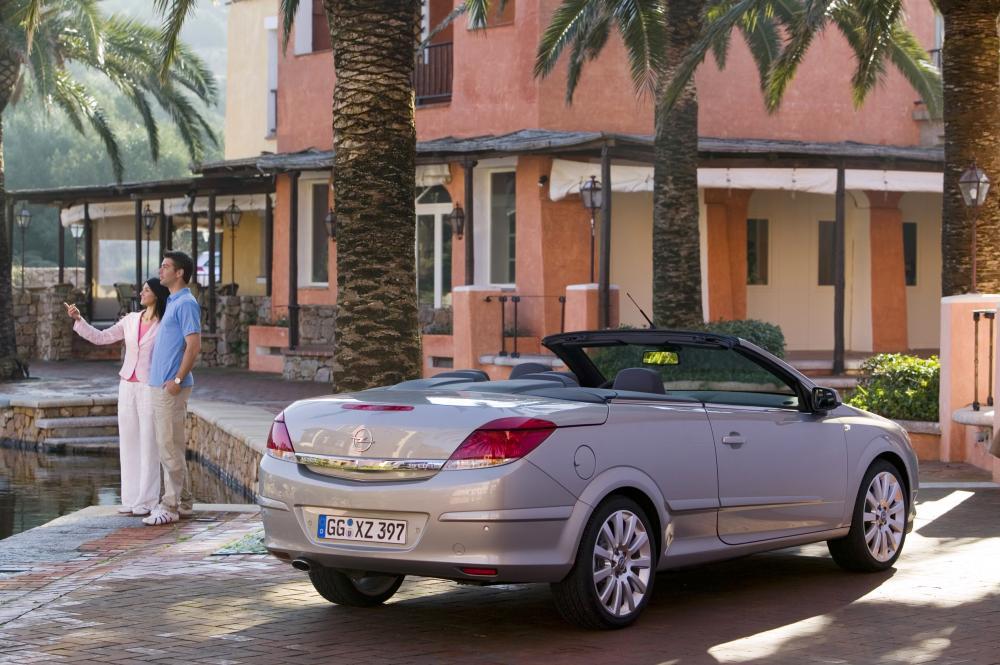 Opel Astra 3 поколение H (2006-2010) Кабриолет