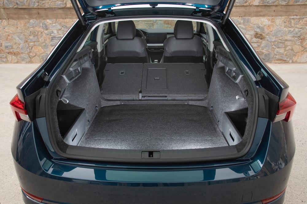 Skoda Octavia 4 поколение (2019) лифтбэк багажник