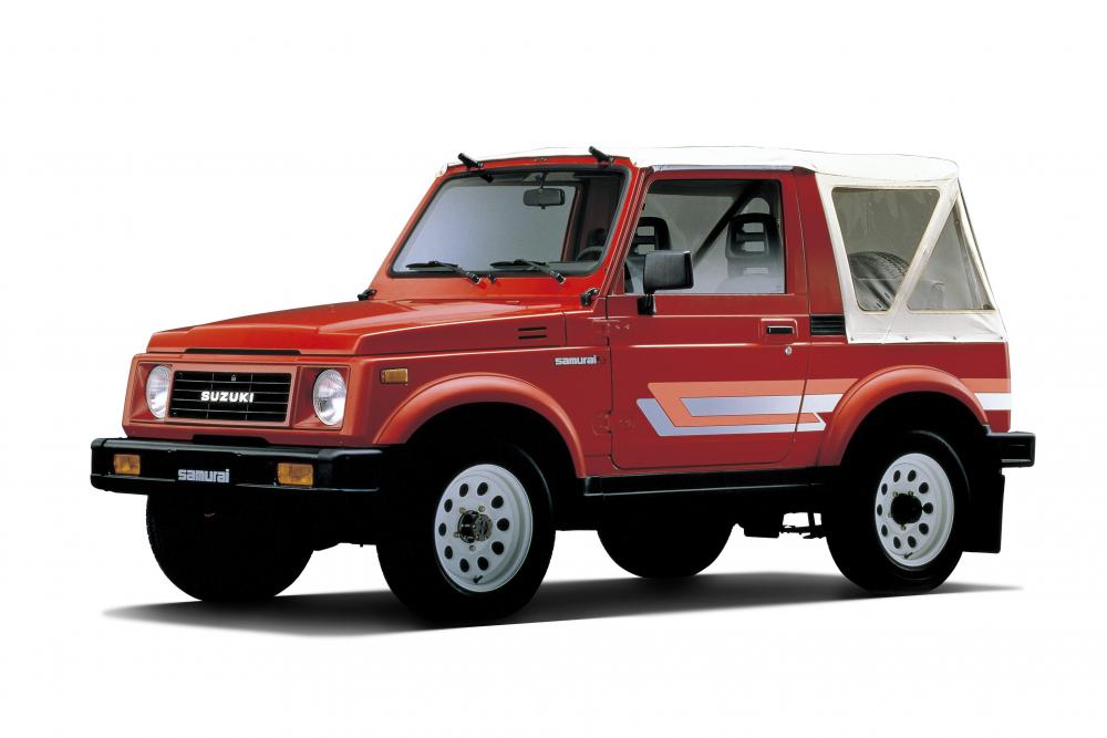 Suzuki Jimny 2 поколение (1981-1998) Внедорожник 3 дв.