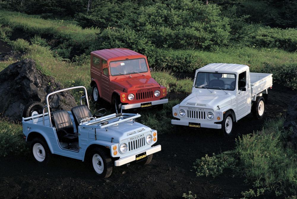 Suzuki Jimny 1 поколение (1970-1981) Внедорожник 3 дв.