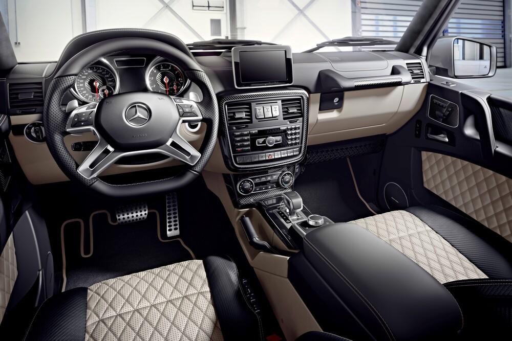 Mercedes-Benz G-klasse AMG W463 [3-й рестайлинг] (2015-2017) Внедорожник 5 дв. интерьер