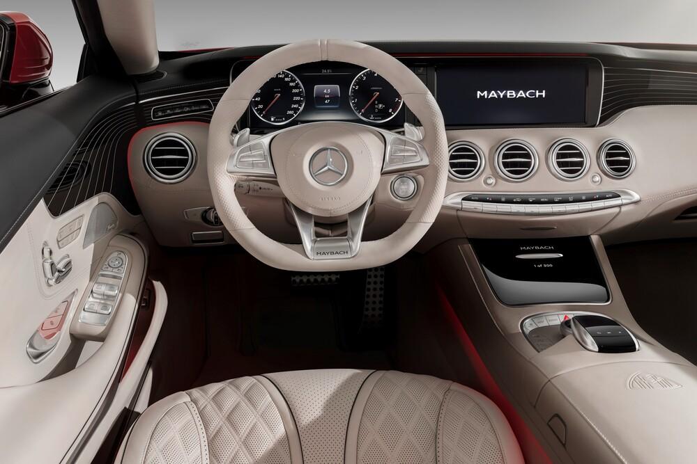 Mercedes-Benz Maybach S-klasse X222 (2016) Кабриолет