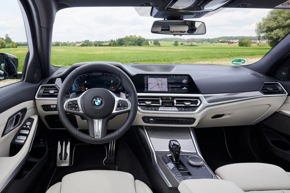 BMW 3 серия 7 поколение G20 (2019) Универсал 5 дв. интерьер
