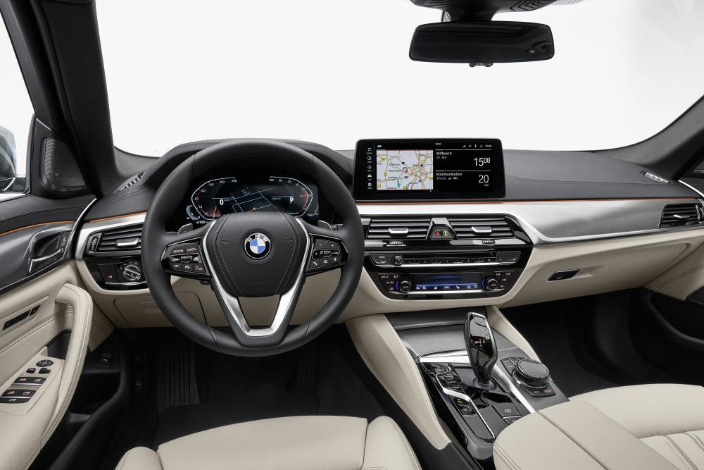 BMW 5 серия 7 поколение G31 [рестайлинг] (2020) Универсал 5 дв. интерьер