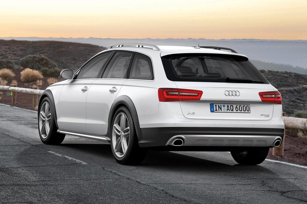Audi A6 allroad 3 поколение C7 (2012-2014) Универсал 5 дв.