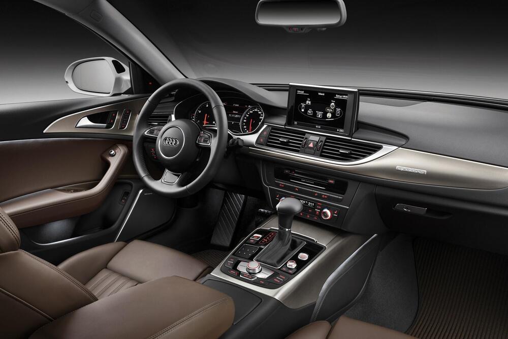 Audi A6 allroad 3 поколение C7 (2012-2014) Универсал 5 дв. интерьер