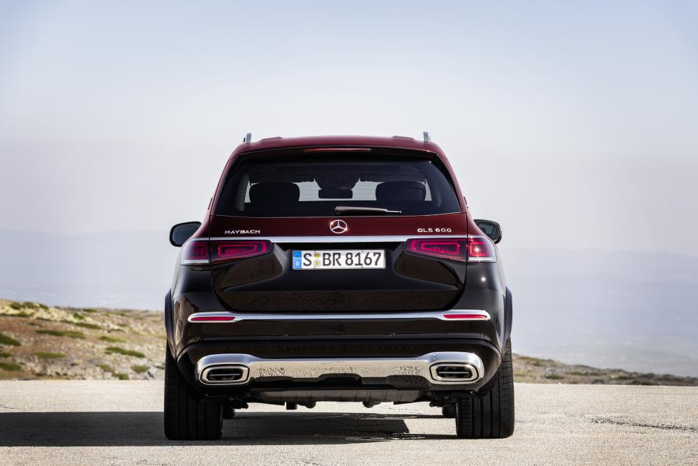 Mercedes-Benz Maybach GLS 1 поколение (2019) Внедорожник 5 дв.