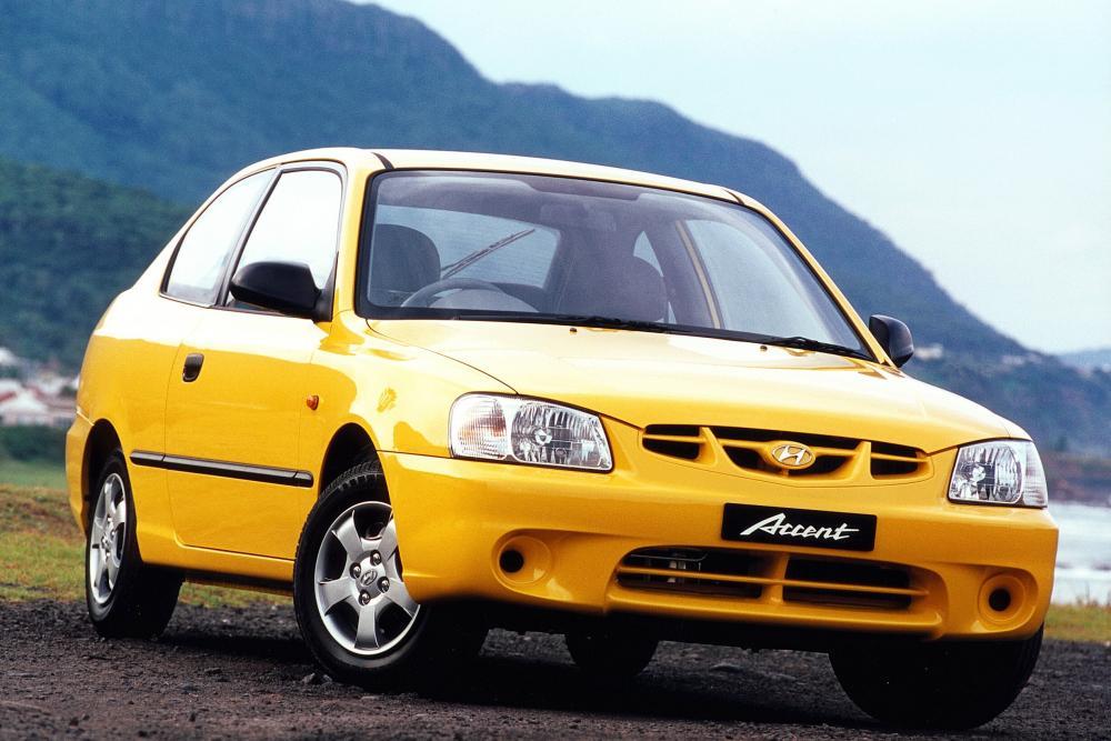 Hyundai Accent 2 поколение LC (1999-2013) Хетчбэк 3-дв.