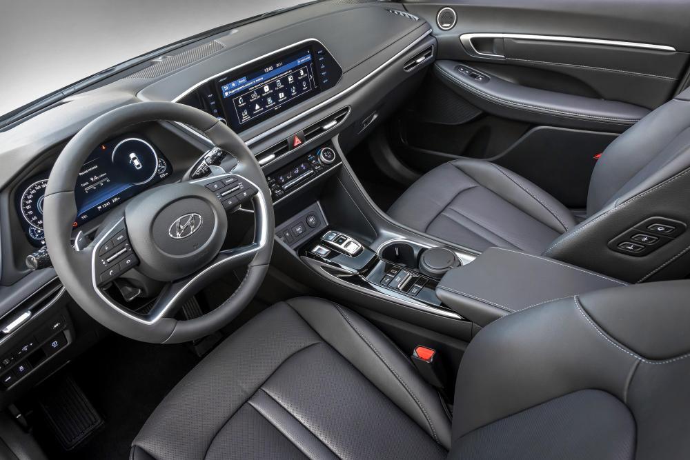 Hyundai Sonata 8 поколение интерьер